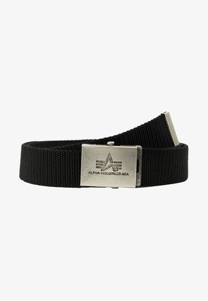 HEAVY DUTY BELT - Cinturón - black