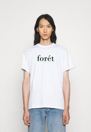 RESIN  - T-shirt print - white