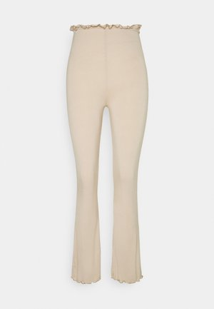 COORD FLARE TROUSER  - Trousers - beige