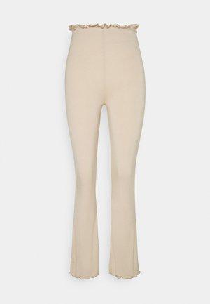 COORD FLARE TROUSER  - Bukse - beige