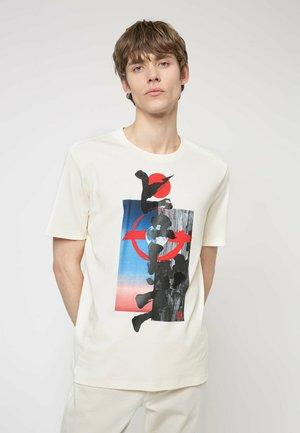 DAMURAI - Print T-shirt - natural