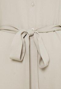 Vila - VIDANIA BELT DRESS - Shirt dress - dove - 2
