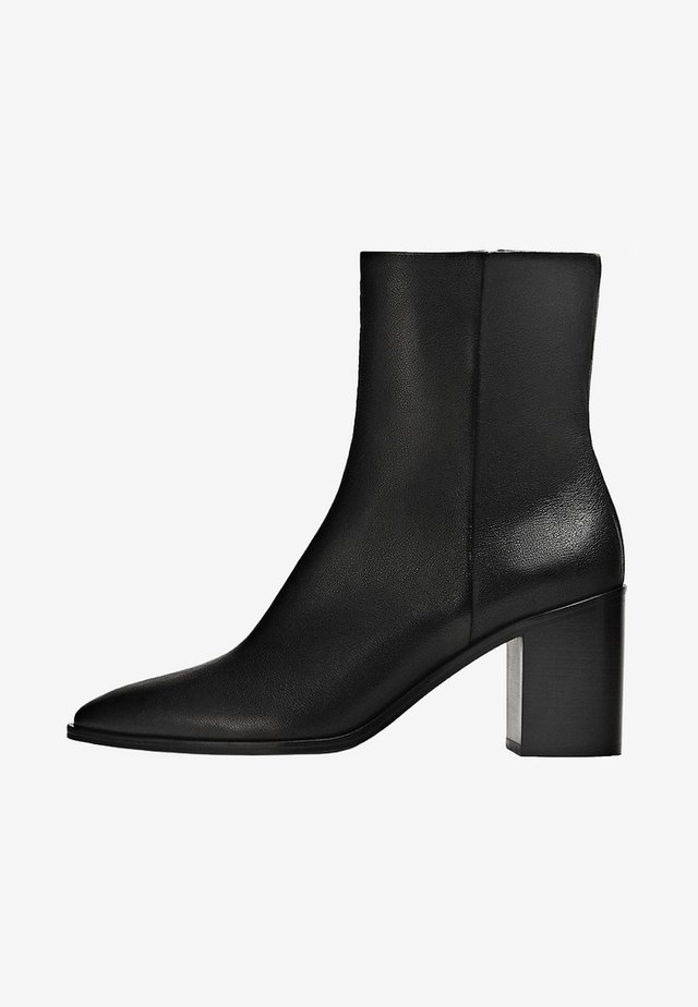 BREITEM ABSATZ - Bottines - black