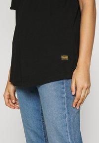 G-Star - LASH LOOSE - Basic T-shirt - black - 5