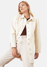 Trendyol - Summer jacket - cream - 2