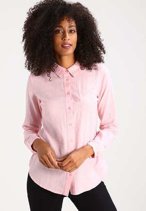 HOLLY  - Button-down blouse - quartz pink melange