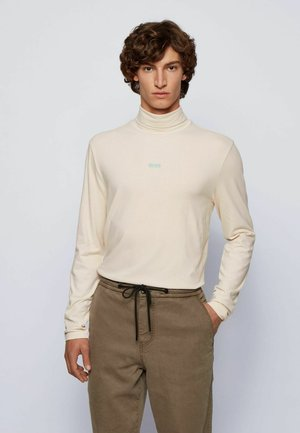 Long sleeved top - light beige