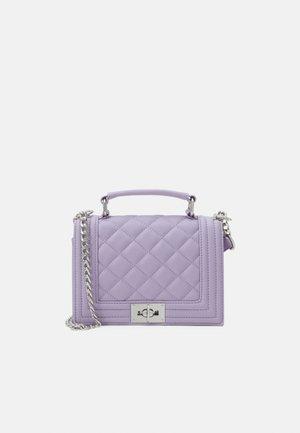 MIA BAG - Taška spříčným popruhem - lilac