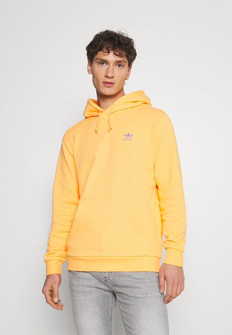 adidas Originals - ESSENTIAL HOODY UNISEX - Sweat à capuche - hazy orange