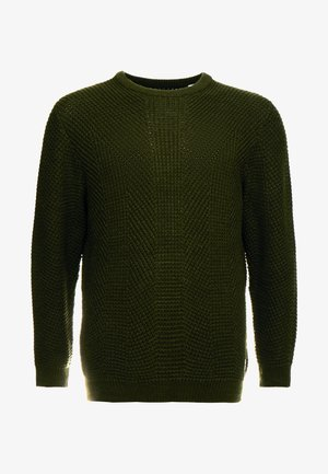 JCOSTANFORD KNIT CREW NECK  - Jumper - rosin