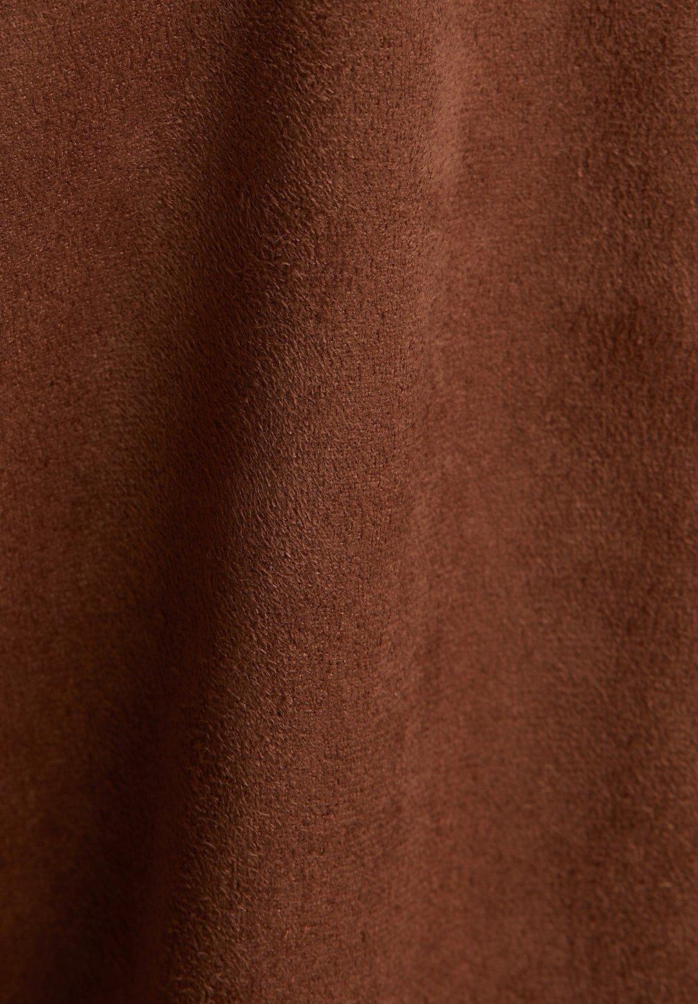 Esprit Jacka i konstläder brown Zalando.se