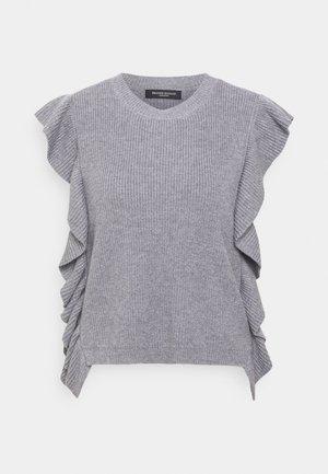 SIMONA INNEA VEST - Print T-shirt - grey melange