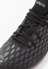 Puma - FUTURE 5.4 TT - Astro turf trainers - black/asphalt - 5