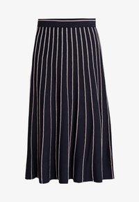 s.Oliver - A-snit nederdel/ A-formede nederdele - navy - 3