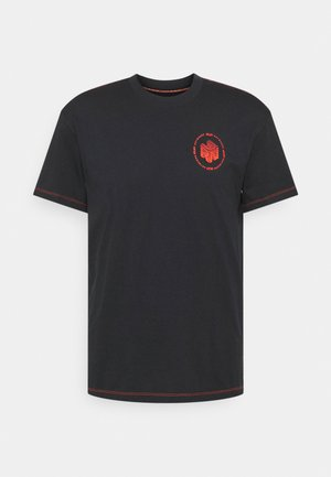 RUN ANYWHERE SHORT SLEEVE - Print T-shirt - black