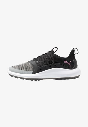 IGNITE NXT SOLELACE - Golf shoes - black/metallic pink