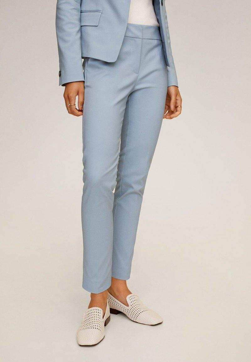 Mango - COFI7-N - Trousers - himmelblau