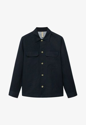 UENO - Camicia - dunkles marineblau