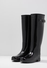Hunter ORIGINAL - ORIGINAL REFINED GLOSS - Wellies - black - 4