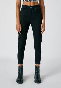 PULL&BEAR - Džíny Straight Fit - dark grey - 0