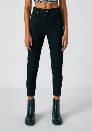 Jeansy Straight Leg - dark grey