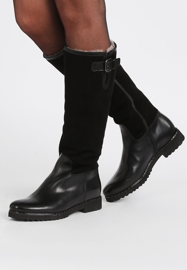 CAPCHI - Stivali da neve  - cam nero
