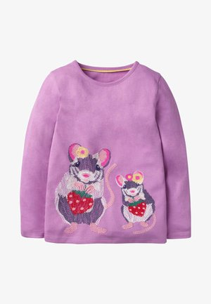 Long sleeved top - lila, maus