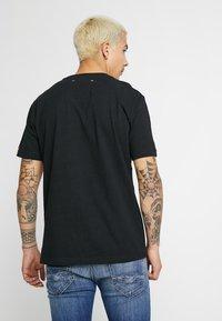 Replay - 2PAC TEE - Print T-shirt - black - 2
