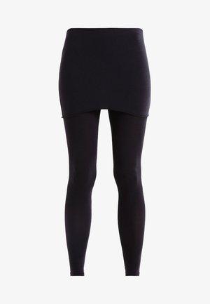 RAFFI - Leggings - Trousers - black