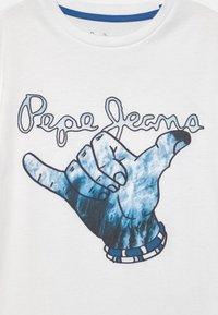 Pepe Jeans - JUDAH - Print T-shirt - optic white - 2