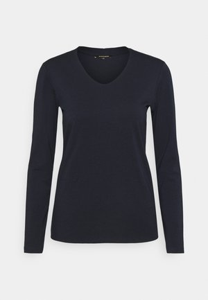 1/1 SLEEVE - Long sleeved top - marine