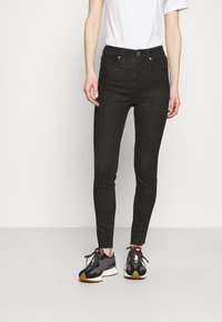 Marks & Spencer London - IVY - Jeans Skinny Fit - black denim - 0