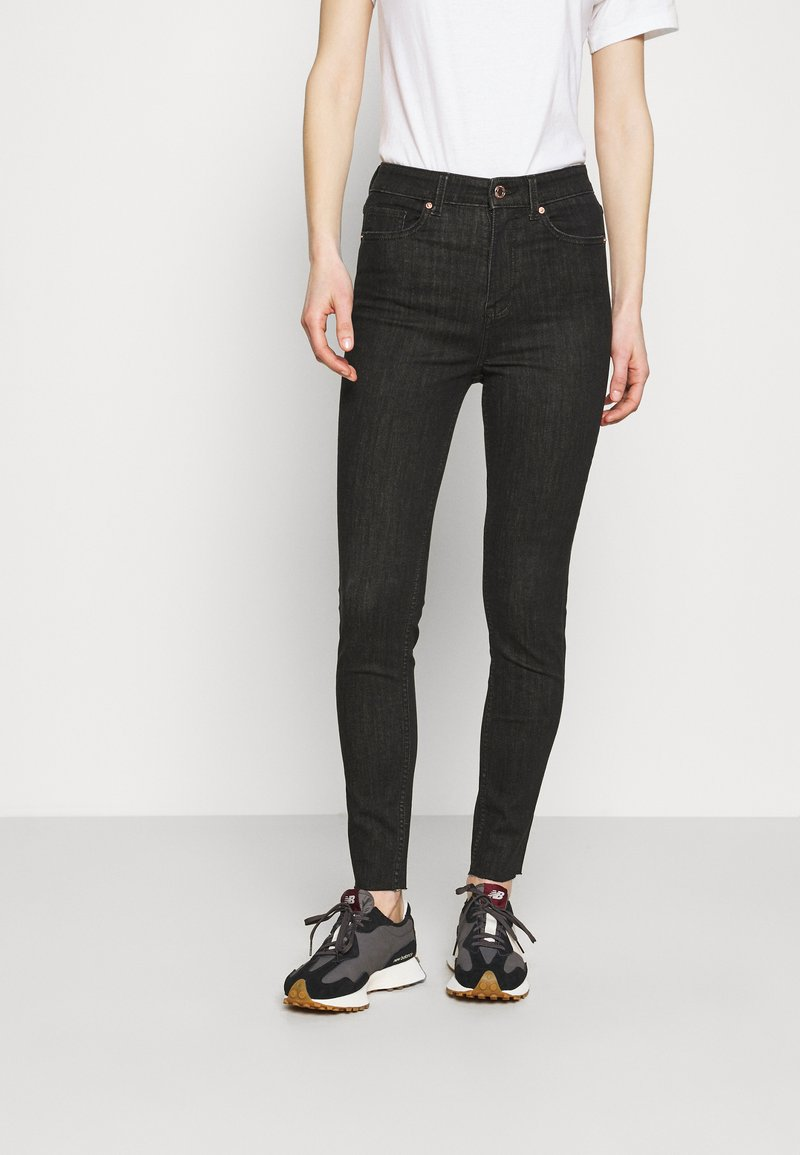 Marks & Spencer London - IVY - Jeans Skinny Fit - black denim