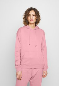 Missguided - BASIC HOODY - Mikina skapucí - pink - 0