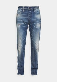 Straight leg jeans - denim blu