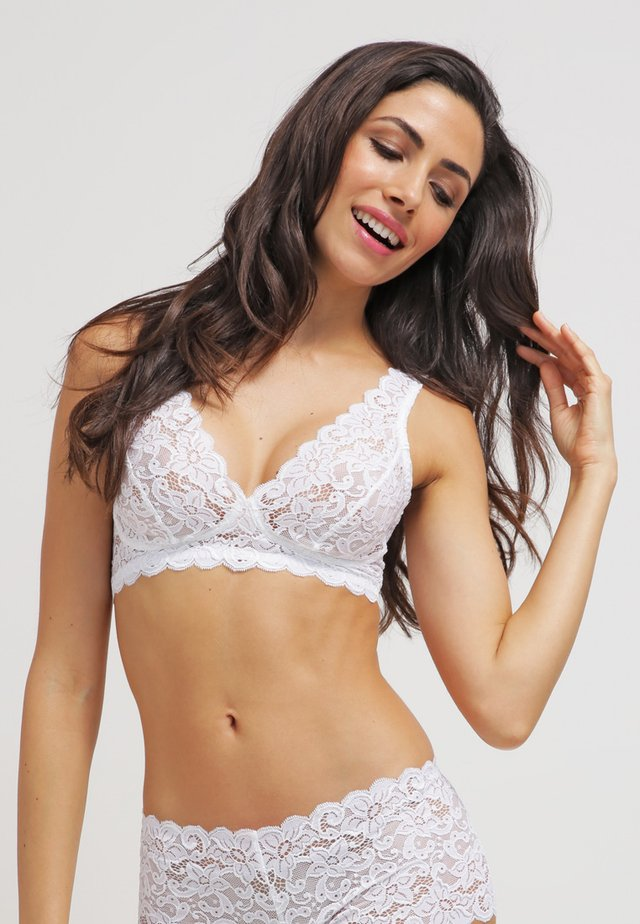 MOMENTS - Soutien-gorge triangle - white