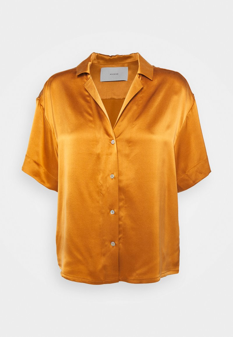 ASCENO - THE PRAGUE - Pyjama top - caramel