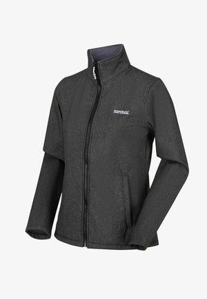 CONNIE - Soft shell jacket - black marl
