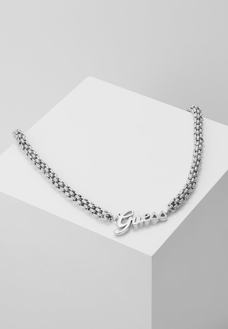 Guess - LOGO POWER - Necklace - silver-coloured