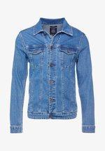 PEGU - Veste en jean - blue denim