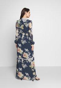 Hope & Ivy Maternity - LONG SLEEVE WRAP DRESS - Maxi šaty - navy - 2