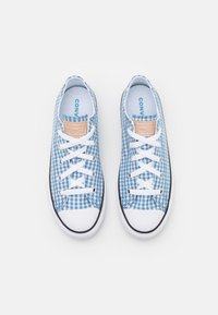 Converse - CHUCK TAYLOR ALL STAR GINGHAM UNISEX - Trainers - aegean storm/white/black - 3