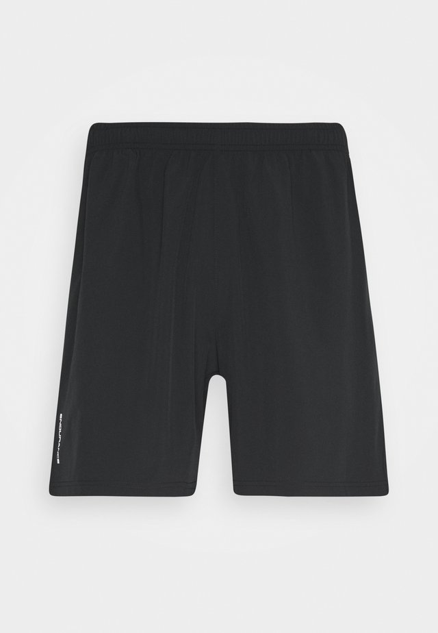 VANCLAUSE SHORTS - Sportovní kraťasy - black