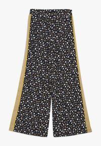 The New - MELROSE WIDE PANTS - Pantalones - black iris - 0