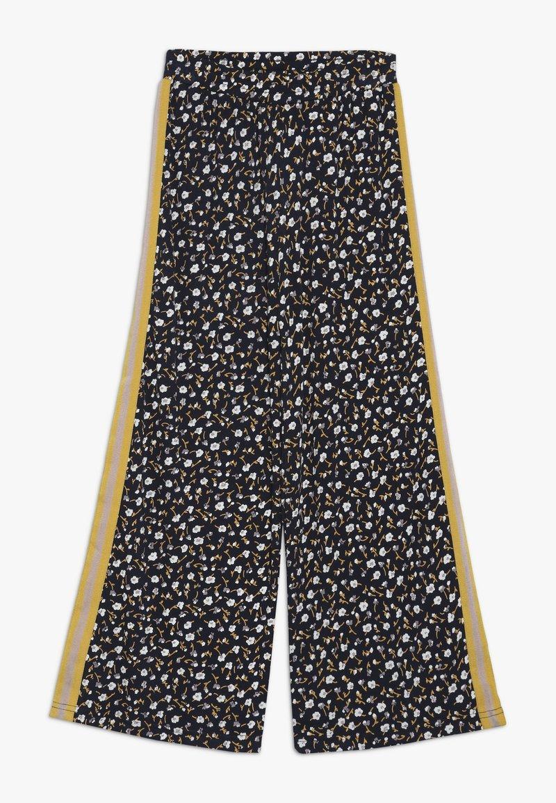 The New - MELROSE WIDE PANTS - Pantalones - black iris
