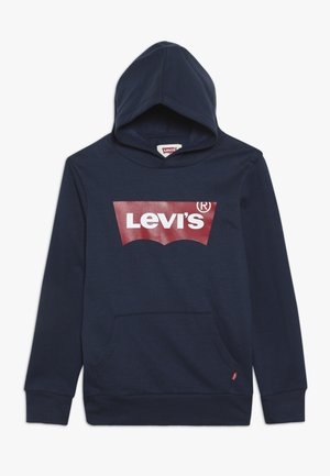BATWING SCREENPRINT HOODIE - Luvtröja - dress blues