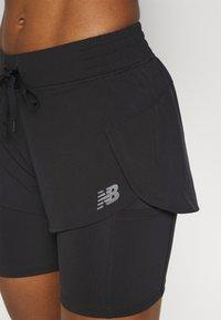 New Balance - IMPACT RUN - kurze Sporthose - black - 5