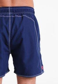 Arena - FUNDAMENTALS SOLID - Swimming shorts - navy/red - 1