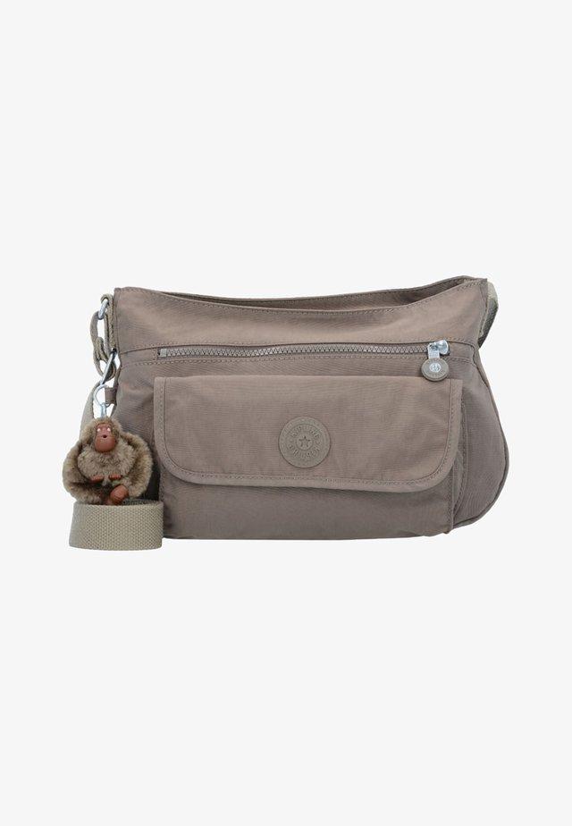 BASIC  - Across body bag -  beige
