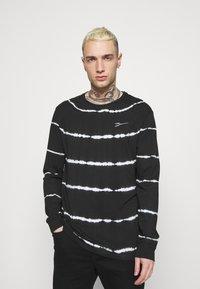 Zign - UNISEX - Long sleeved top - black - 0